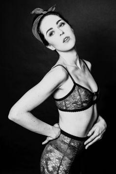 Kayleigh Peddie Ronette Roll On Garter Underwear Slips 477a8fc24