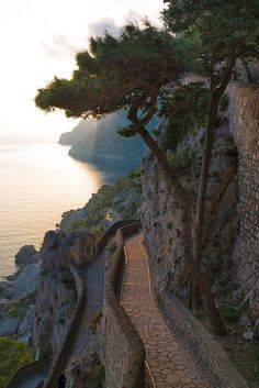 Via Krupp, Capri, Campania, Italy. Deseo volver!!!