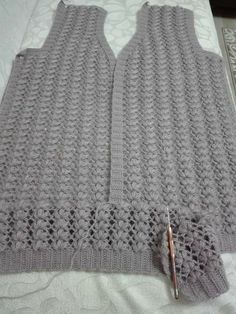 Lace Patterns, Easy Crochet Patterns, Baby Knitting Patterns, Crochet Stitches, Gilet Crochet, Cotton Crochet, Crochet Lace, Diy Crafts Knitting, Crochet Circles