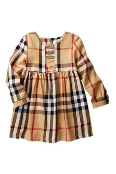 Ruched Plaid Dress (Toddler, Little Girls, & Big Girls) by Paulinie on @HauteLook