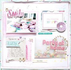 Nunusite: Layout: Sweet Party