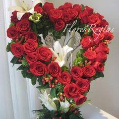 Rosas rosenstrauss madera flores rosas madera arte flores boda cumpleaños Pink Lil