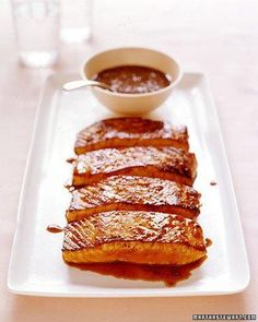 Salmon with Honey-Coriander Glaze Recipe