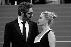 Pin for Later: Le Festival de Cannes en Noir et Blanc, C'est Encore Mieux! Emmanuelle Beart