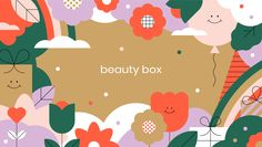 Beauty Box on Behance Game Design, Icon Design, Chinese New Year Gifts, Gift Box Design, Behance, Fashion Graphic Design, Banner Images, Art Furniture, Beauty Box