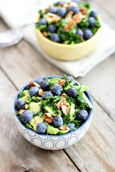 Creamy Kale and Brussels Salad
