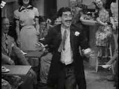 I adore Groucho.  And I can't hear the name Lydia without this song running through my head.