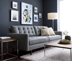 With our inspiration gallery of blue home decor, furniture and more, you can find ways to add blue to every room in the house. From pops of blue in pillows or plates to beautiful blue sofas and chairs, you can find ideas for how to incorporate this versatile color in small doses or make it the focal point of your room.
