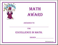 Equivalent fractions posters sb6743 sparklebox school math certificate math award awarded to for excellence in math math yelopaper Image collections