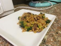 "Vegan Farro ""Risotto"" with Broccoli and Mushrooms #farro #risotto ..."