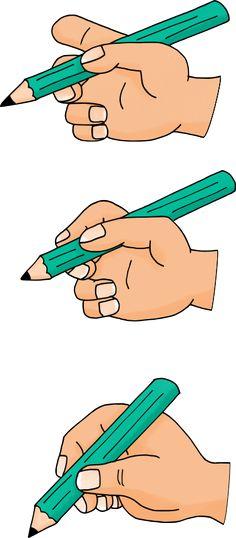 Tous mes dessins sur la tenue du crayon en maternelle !