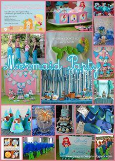 GreyGrey Designs: It's a Mermaid Party!