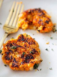 Sweet Potato Quinoa Patties.. tomorrows lunch