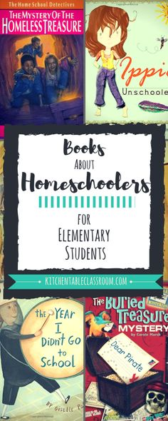 Books Featuring Homeschoolers for Elementary Students