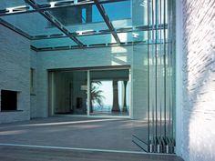 Continuous rooflight Glass rooflight by CARMINATI SERRAMENTI
