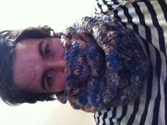 I made a snood out of Lidl wool.
