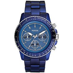 CH2710 Fossil Stella Aluminum Chronograph Mens Watch Price $69
