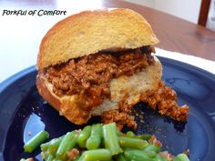 Cajun Sloppy Joes  From Forkful of Comfort