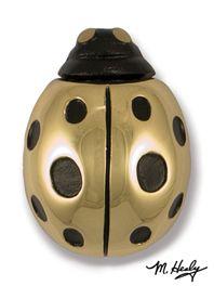 MH1031 Ladybug Door Knocker in Brass by Michael Healy