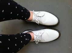 my first pair of Dr. Martens :)