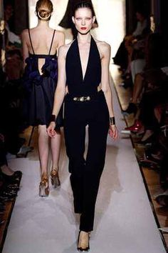 4e5ecd7ea00 Celebrities who wear, use, or own Yves Saint Laurent Spring 2012 RTW  Jumpsuit. Also discover the movies, TV shows, and events associated with Yves  Saint ...
