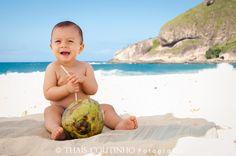 Cuidados com o bebé na praia