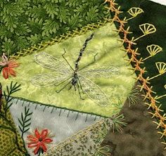 I ❤ crazy quilting, embroidery & dragonflies . . .