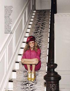 Esther Heesch | 70's Disco Fashion Editorial | Vanity Fair Italy