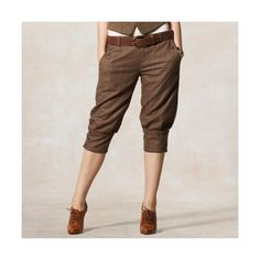 I find myself searching for knickerbocker pants. Like when I was a kid, but more sophisticated. Cute with heels!