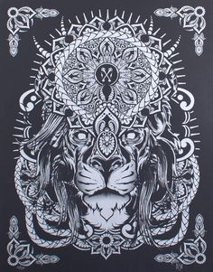 lion mandala tattoos - Google Search