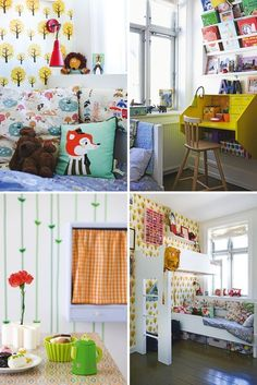 Absolutely adorable kid space.  What kid would not want to go to that room??