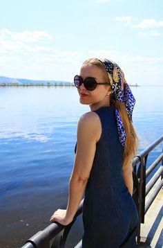 IMG_1461 Head Scarfs, Silk Scarves, Ps, Sunglasses Women, Beauty, Style, Fashion, Headscarves, Moda