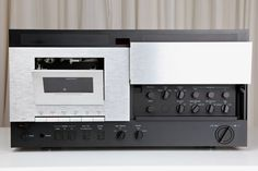My final nakamichi. Actually i preferred the Hifi Audio, Audio Speakers, Stereo Amplifier, Tape Recorder, Audio Equipment, Audio System, Audiophile, Decks, Band