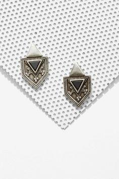Biko Mia Silver Earrings