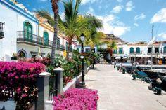 Spain, Canarias, Gran Canaria, Puerto de Mogan