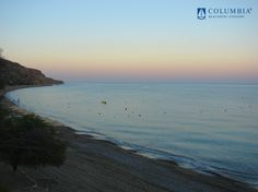 Sunset over Pissouri Bay, home of Columbia Beach resort and Hotel