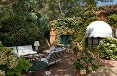 Lloret De Mar, Spain: this backyard is just begging to host a tea party.