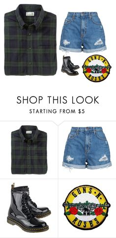 """""""Untitled #211"""" by chill-outfits ❤ liked on Polyvore featuring Nobody Denim and Dr. Martens"""