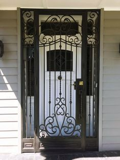 View our wrought large range of wrought iron products. From Wrought Iron Gates to Wrought Iron doors to Wrought Iron balustrades, we've got it all. Wrought Iron Security Doors, Wrought Iron Doors, Fly Screen Doors, Knobs And Knockers, Home Protection, Grill Design, Diamond Pattern, Door Design, Modern Design