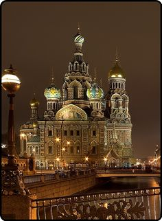 St. Petersburg, on the site of the assassination of Alexander II in 1883