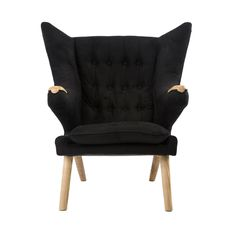 Slide back into the willing, open arms of the Teddy Lounge Chair. Inspired by mid-century modern design and exaggerated to a chic style of comfort, this chair is constructed of sturdy beech wood and is...  Find the Teddy Lounge Chair, as seen in the Our Best Mid-Century Designs Collection at http://dotandbo.com/collections/our-best-mid-century-designs?utm_source=pinterest&utm_medium=organic&db_sku=119628