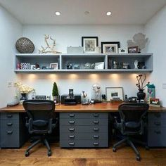 home office design on a budget ikea hacks home office design on a budget couch home office design on a budget style Diy Office Desk, Office Organization At Work, Home Office Space, Home Office Desks, Office Decor, Office Ideas, Desk Ideas, Shared Home Offices, Office Designs