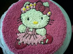 Torta hello kitty bailarina