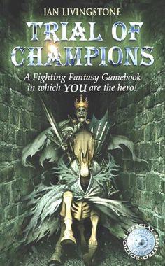 Trial of Champions (Fighting Fantasy Gamebook 12) by Ian Livingstone http://www.amazon.co.uk/dp/1840464348/ref=cm_sw_r_pi_dp_0ScRub0R9Y1NR