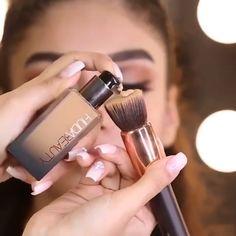 Trendy Makeup Tutorial Foundation Augenbrauen Konturen Ideen … - Makeup Tutorial Over 40 Makeup Basic, Makeup 101, Makeup Goals, Eyebrow Makeup, Simple Makeup, Makeup Eyeshadow, Eyeliner, Makeup Brushes, Makeup Style
