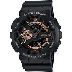 Men's Black Casio G-Shock Ana-Digital Watch GA110RG-1A