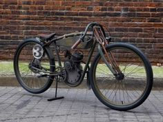 1918 Harley Davidson Board Track Tribute Replica Motorized Bicycle Racer motorized bicycle 2 stroke