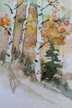 ACEO Original Watercolor Painting - by Watercolorist Jim Lagasse  #Realism