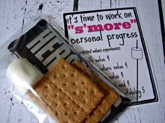 s'more young woman personal progress printables