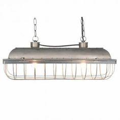 Metalen tube hanglamp 60x20cm - 8717459558519 - Avantius